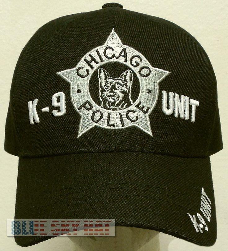 NEW CHICAGO K-9 K9 DOG TEAM UNIT POLICE OFFICER SPECIAL AGENT DEPT CORPS CAP HAT #PREMIUMHATS #BaseballCap