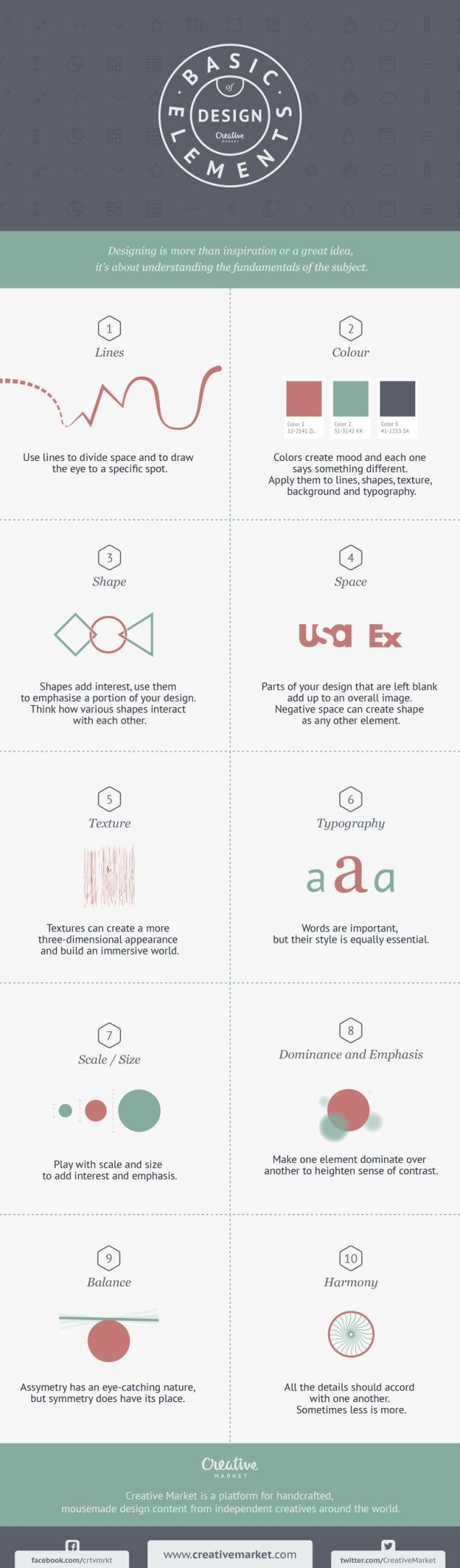 This Graphic Teaches You the Basic Elements of Good Design