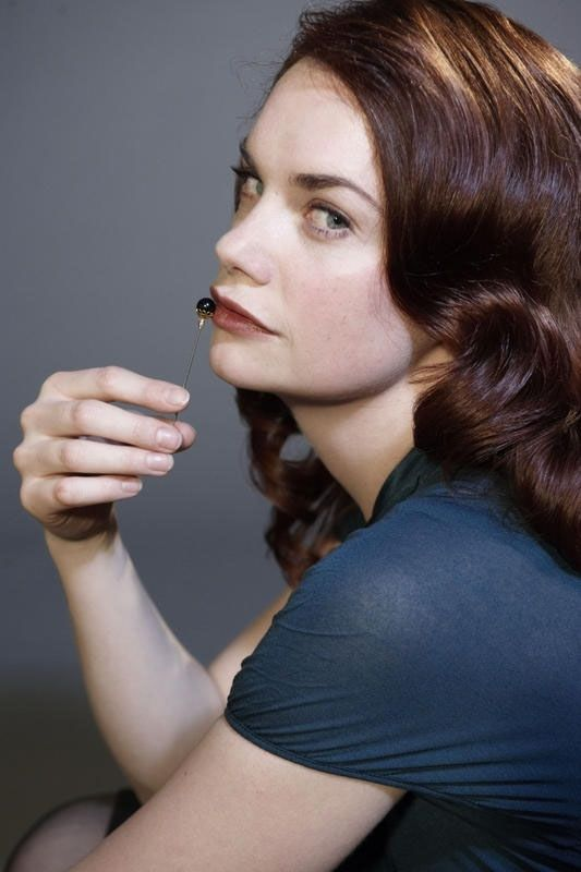 Who wouldn't want to pin, and be pinned by, Ruth Wilson's ice-cold and beauteous Alice?