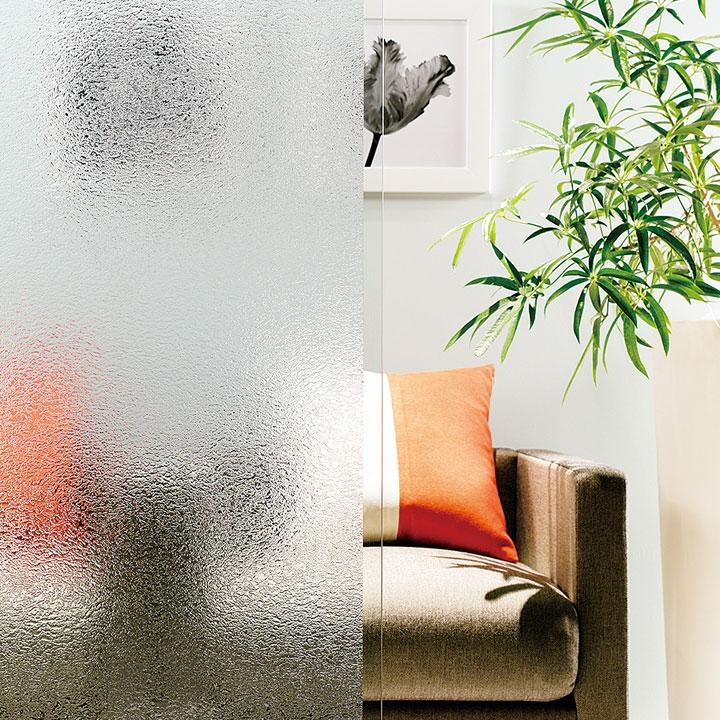 Increase privacy with Baresque 'Dimple' glass film