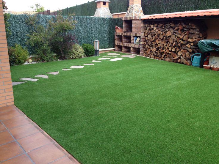 M s de 1000 ideas sobre c sped artificial en pinterest for Camino de piedra en el jardin
