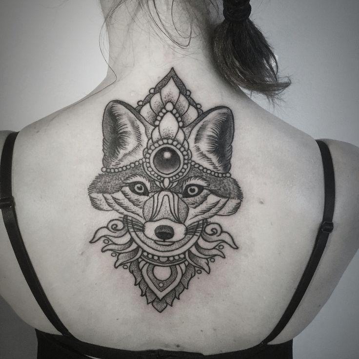 Dotwork tattoo
