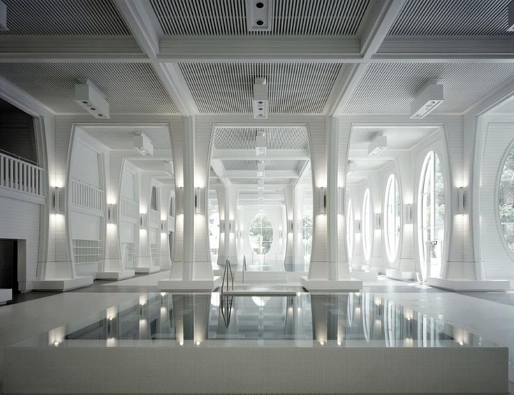 Take a Spa Break: Tamina Therme - Bad Ragaz, Switzerland    The heart of the Tamina Therme Bad Ragaz...