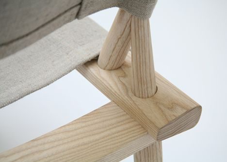 December chair by Jasper Morrison and Wataru Kumano for Nikari
