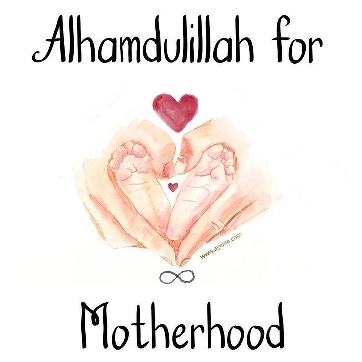 39. Alhamdulillah for motherhood #AlhamdulillahForSeries