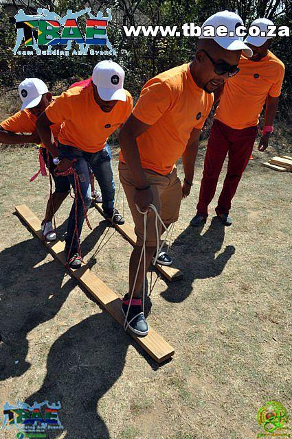 Plank Race Team Building Activity
