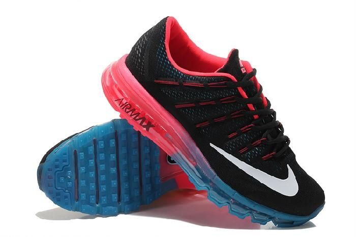 Cheap Nike Air Max 2016 Black Red Blue Mens Shoes at Nike Online Store
