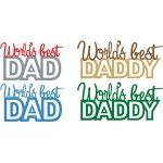 world's best dad phrase