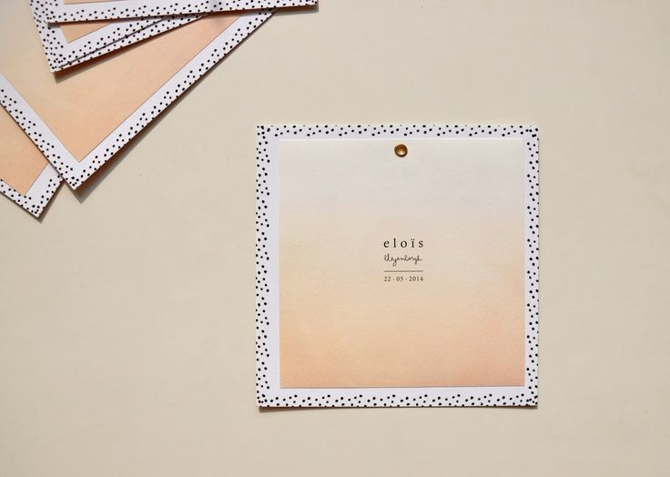 H O L A • P O L A kaartjes kaart Evelien Gommeren geboortekaart ontwerp geboortekaarten: MY ELOÏS