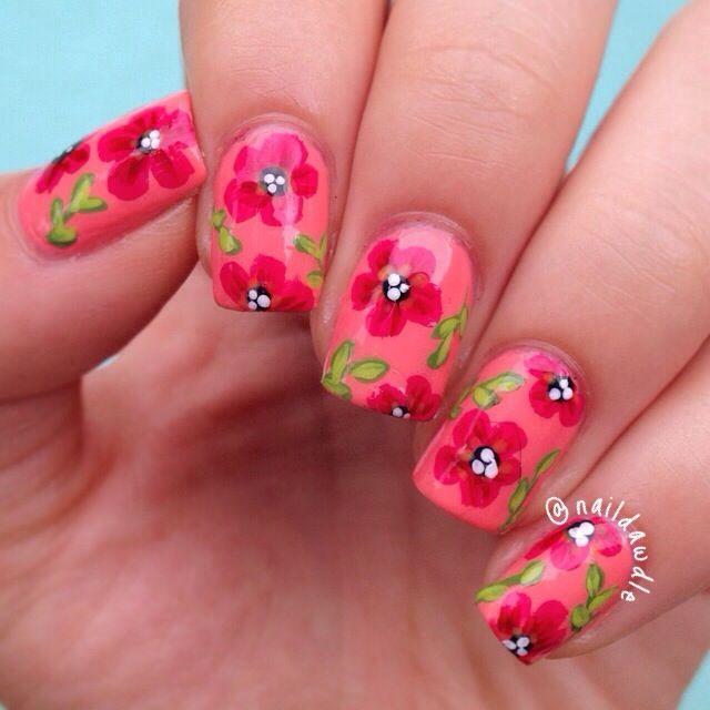 Mejores 148 imágenes de Nails en Pinterest | Uñas de manicura ...