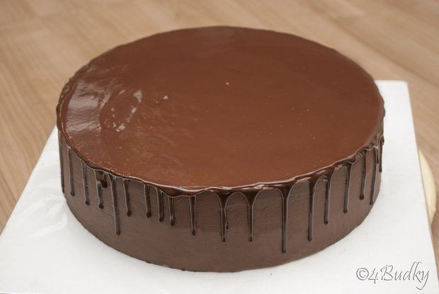 Čokoládové polévání