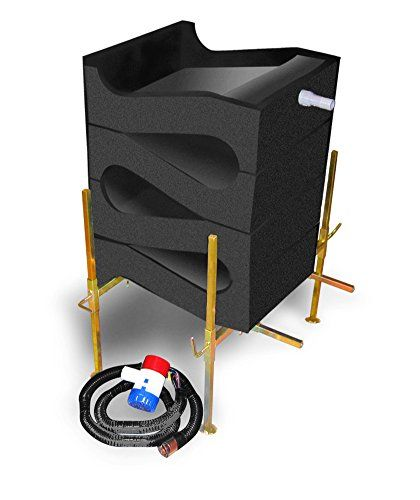 Gold Cube 4 Stack Deluxe Gold Sluice – Gold Mining
