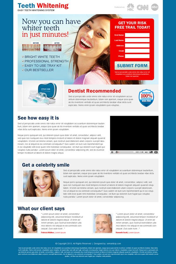 Great landing page design templtes layout example that delivers leads | Landing Page Design Template for Sale