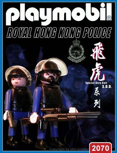 Royal Hong Kong Police - S.D.U.  // The image and figures do not necessarily reflect the opinion of Playmobil. #playmobilcustom