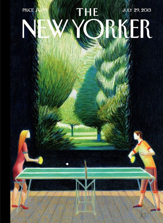 Lorenzo Mattotti – Couverture, The New Yorker, juillet 2013