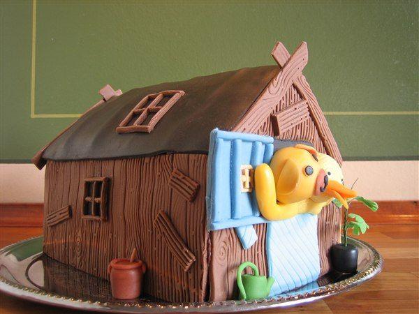 Bamse og kylling hus