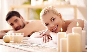 Groupon - 60-, or 90-Minute Couples Massage at A Plus Massages (Up to 50% Off) in A Plus Massages. Groupon deal price: $99