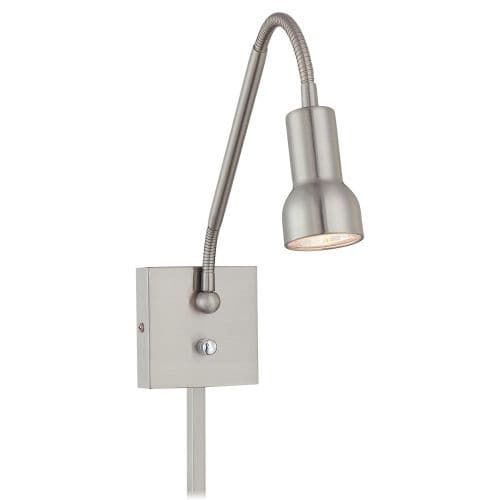 Kovacs P4401 1 Light Plug In Wall Sconce from the Save Your Marriage Collection (Bronze Finish), Gold