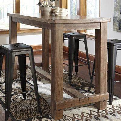 Signature Design by Ashley Pinnadel Pub Table & Reviews | Wayfair
