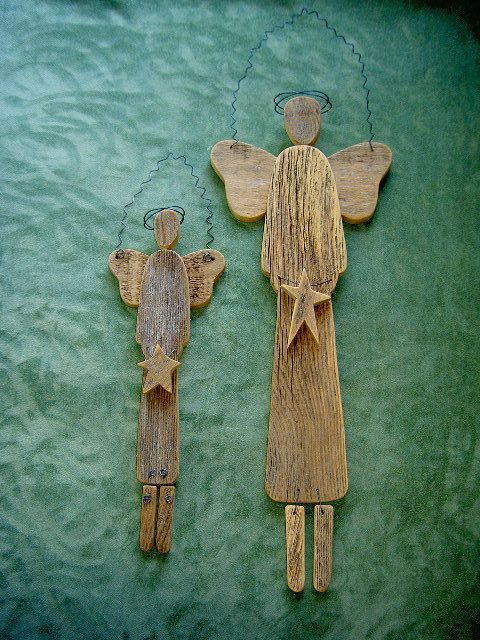 Angels Wooden Angels Christmas Angels Church Angels and by CooClaw, $29.00