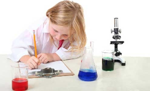 science experiments for little children