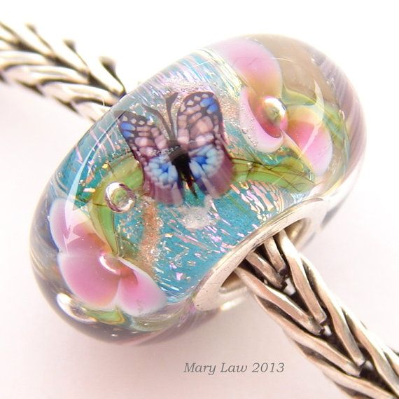 Butterfly Dream Garden. For those who are comfortable with Light Spring stereotypes, this is a lovely bead. You could own several. And replace the chain with something lighter in weight and colour, and more twinkly.