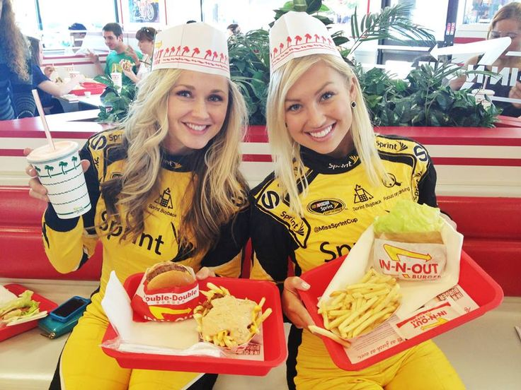 Miss Sprint Cup Visits In And Out World Famous Double
