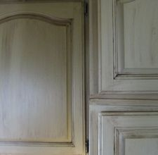 How to do a tuscany paint stain treatments on cabinets
