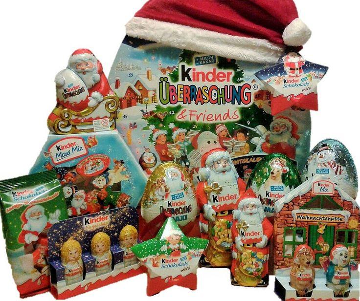 Kinder Advent Calendar with Surprise Eggs Value Set #christmas #gifts #kinder #kindersurprise
