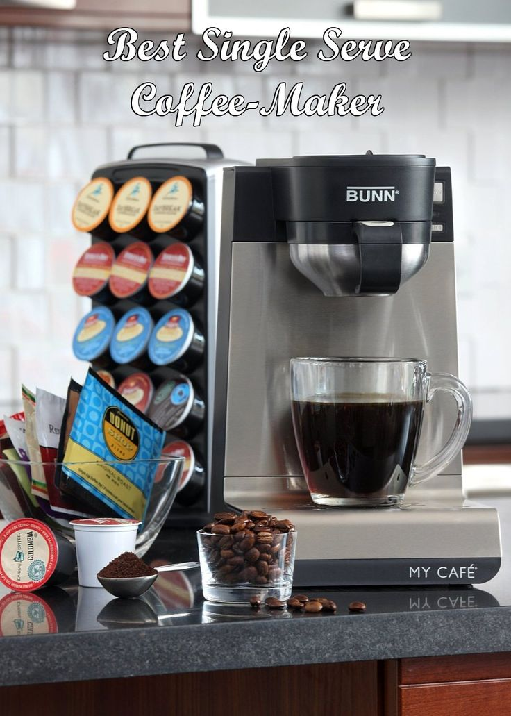 AMAZING Single Serve Coffee Maker: The BUNN MCU gives you the convenience of single cup brewing plus the ability to brew flavorful coffee or tea using K-Cups, ground coffee, soft coffee and tea pods, tea bags and loose tea. Includes 4 interchangeable, front-loading drawers for brewing flexibility. The MCU also features a stainless steel water tank, jet action sprayhead and removable drip tray. #ad