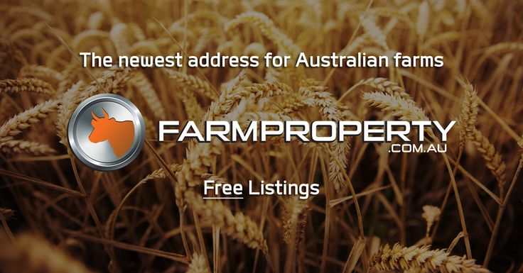 Our sister site is up and running. FREE  listings. Australia's newest address for farms.