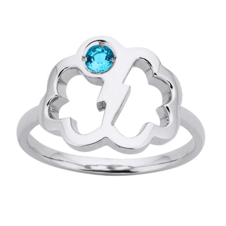 Karen Walker Lightning bolt ring