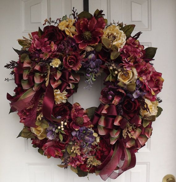 17 best images about burgundy pink on pinterest purple for Best place to buy wreaths