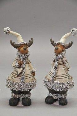 Decoratiuni craciun set de reni