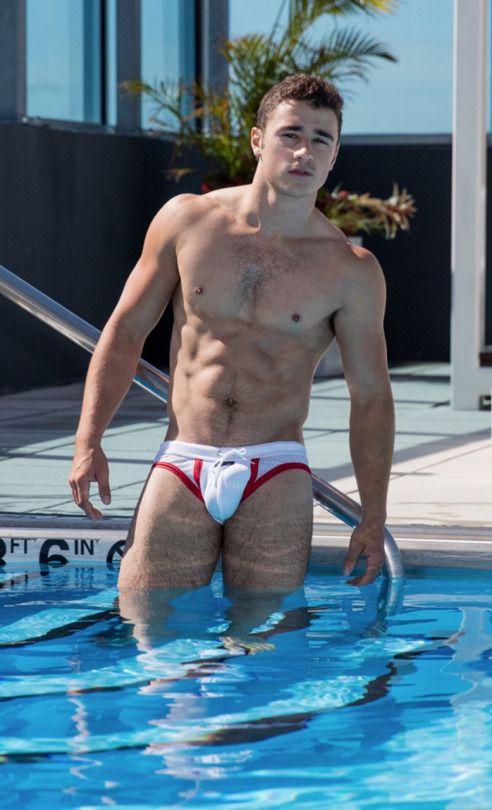 Nude in the pool tumblr