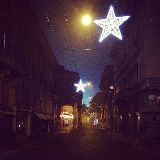 Luminarie a Modena - Instagram by @iena70