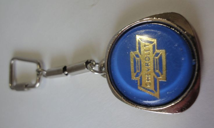 Vintage Chevrolet  Metal  Key Fob