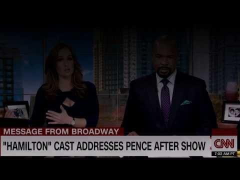 Hamilton Cast Address Pence  CNN breaking news