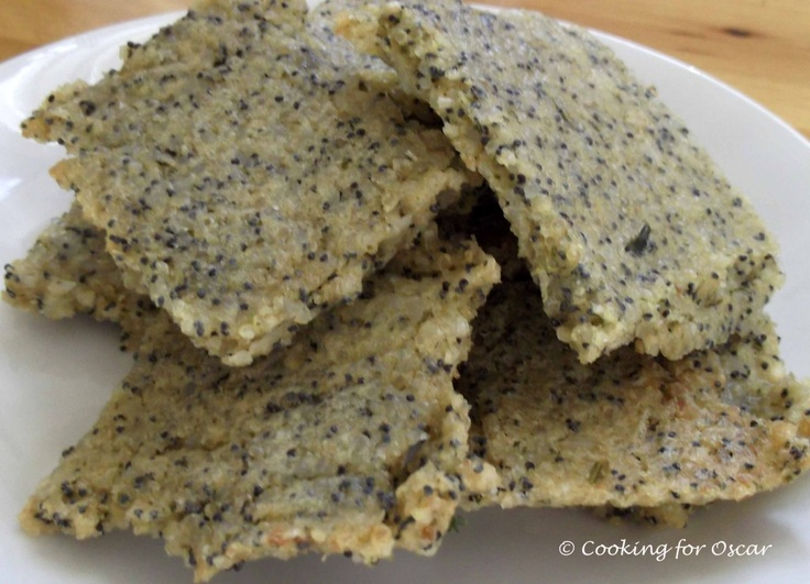 Chewy Gluten-free Crackers