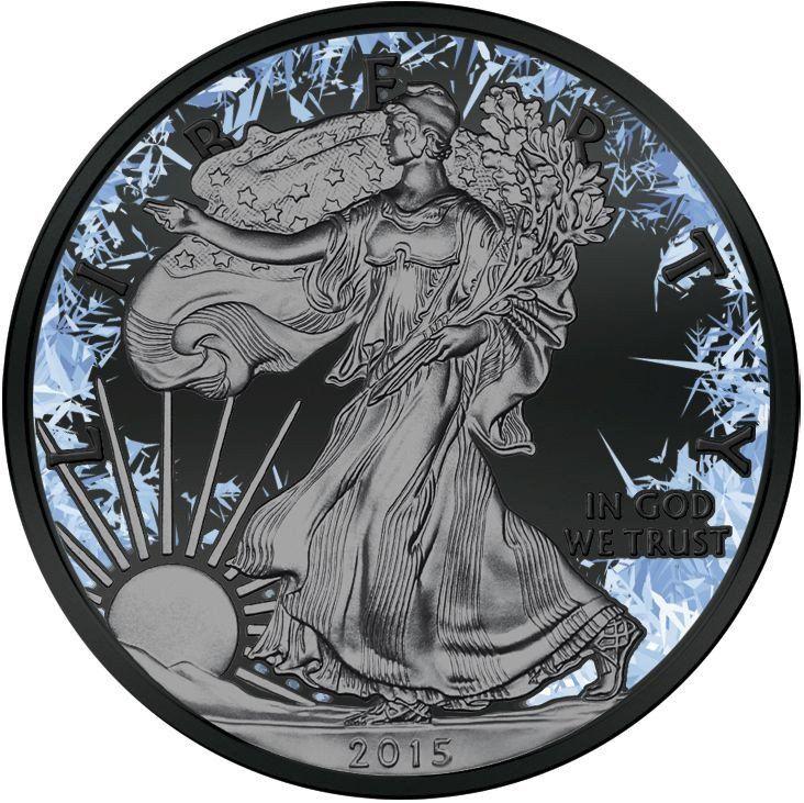 2016 1 Ounce Deep Frozen Silver Walking Liberty Coin Set – ArtInCoins