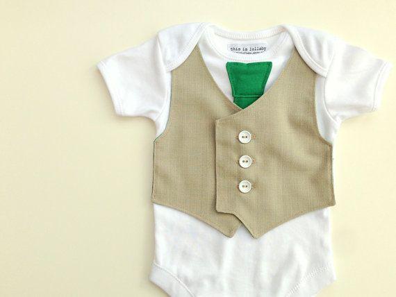 Boys one piece, baby boy vest, green baby clothes, infant boy clothing, green bodysuit, irish baby wear on Etsy, $29.29 AUD