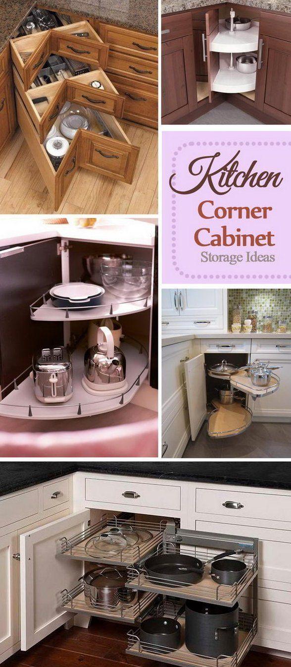 Kitchen Corner Cabinet Storage Ideas 2017 Kitchenorganizationideas The Pull Out In 2020 Corner Kitchen Cabinet Corner Storage Cabinet Kitchen Corner Cupboard
