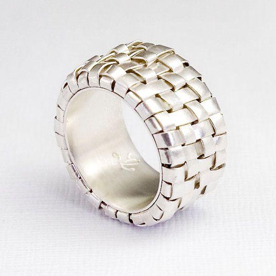 Anillo de plata para hombre anillo de plata fina por ToolisJewelry