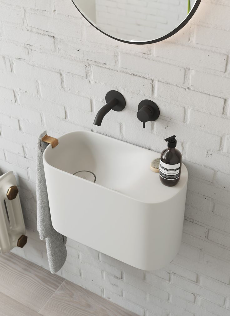Rexa Design small basins: new concept of spaces
