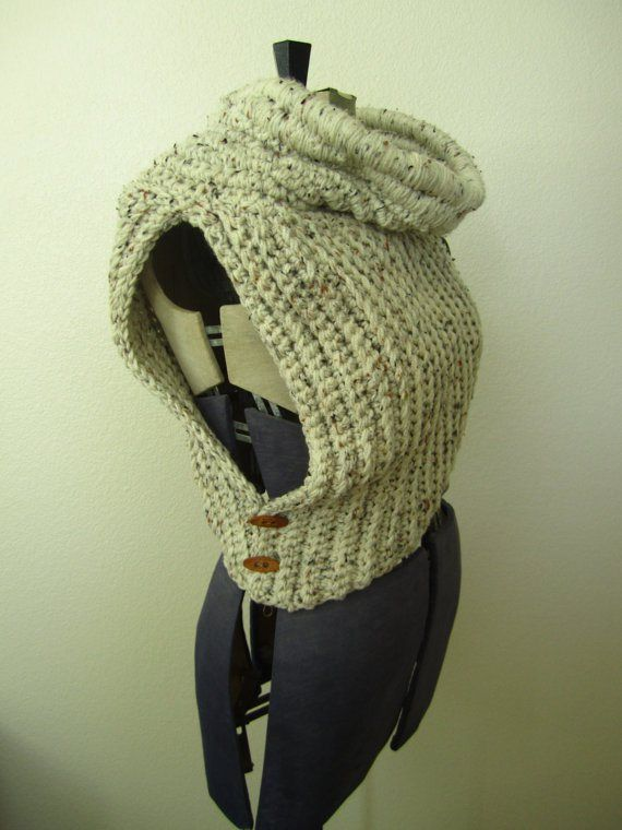 Okay this is crochet, but I love the Katniss Cowl!