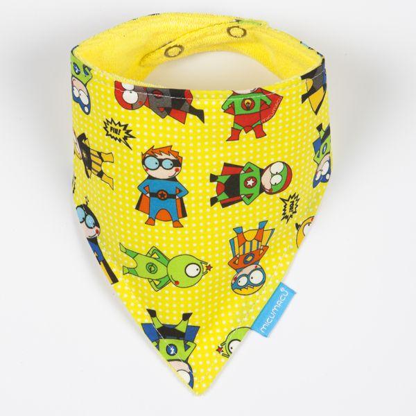 Babero bandana superhéroes