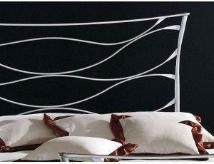 Gaudì letto in ferro battuto - Letto in ferro battuto (ferro pieno ...