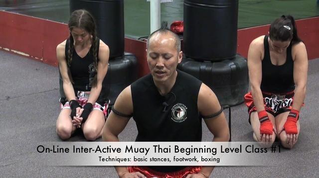 Muay Thai Training online
