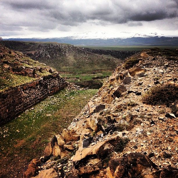 Running the forgotten military canals #turkey #kars