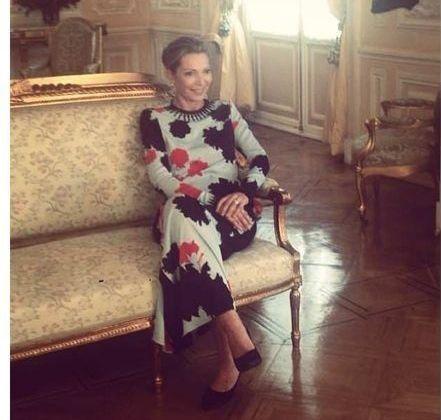 First Lady Colombia Maria Clemencia de Santos